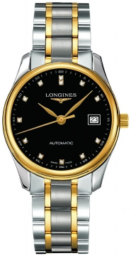 Longines Master Automatic 36mm Midsize watch, model number - L2.518.5.57.7, discount price of £1,645.00 from The Watch Source