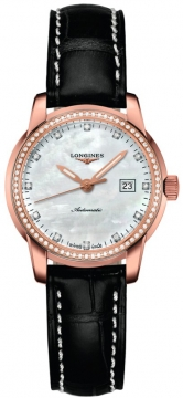 Longines The Saint-Imier 30mm Ladies watch, model number - L2.563.9.87.3, discount price of £3,780.00 from The Watch Source