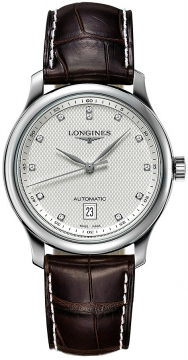 Longines Master Automatic 38.5mm Mens watch, model number - L2.628.4.77.3, discount price of £1,368.00 from The Watch Source