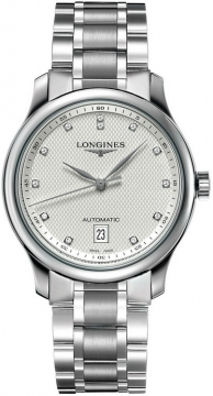 Longines Master Automatic 38.5mm Mens watch, model number - L2.628.4.77.6, discount price of £1,428.00 from The Watch Source