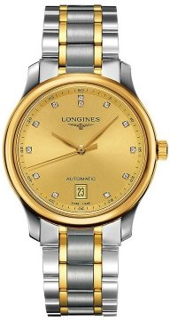Longines Master Automatic 38.5mm Mens watch, model number - L2.628.5.37.7, discount price of £1,820.00 from The Watch Source