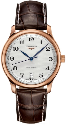 Longines Master Automatic 38.5mm Mens watch, model number - L2.628.8.78.3, discount price of £3,196.00 from The Watch Source