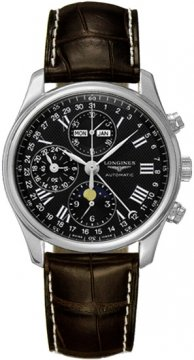 Longines Master Complications Mens watch, model number - L2.673.4.51.3, discount price of £1,755.00 from The Watch Source
