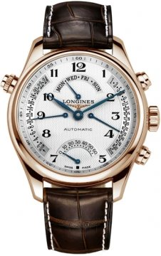 Longines Master Retrograde Seconds 41mm Mens watch, model number - L2.715.8.78.3, discount price of £6,440.00 from The Watch Source