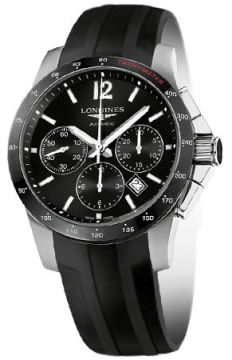 Longines Conquest Automatic Chronograph 41mm Mens watch, model number - L2.744.4.56.2, discount price of £1,730.00 from The Watch Source