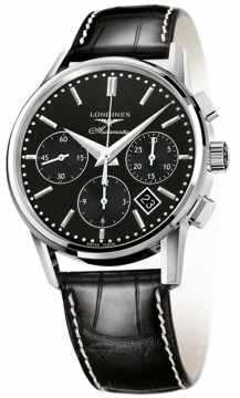 Longines Heritage Chronograph Mens watch, model number - L2.749.4.52.0, discount price of £1,836.00 from The Watch Source