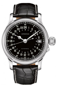Longines Heritage Avigation Mens watch, model number - L2.751.4.53.4, discount price of £1,861.00 from The Watch Source