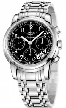 Longines The Saint-Imier Chronograph 41mm Mens watch, model number - L2.752.4.53.6, discount price of £1,795.00 from The Watch Source