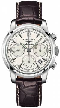 Longines The Saint-Imier Chronograph 41mm Mens watch, model number - L2.752.4.72.0, discount price of £1,725.00 from The Watch Source