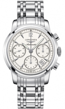 Longines The Saint-Imier Chronograph 41mm Mens watch, model number - L2.752.4.72.6, discount price of £1,725.00 from The Watch Source