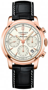 Longines The Saint-Imier Chronograph 41mm Mens watch, model number - L2.752.8.72.3, discount price of £5,715.00 from The Watch Source