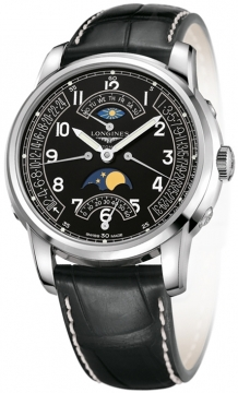 Longines The Saint-Imier 44mm Mens watch, model number - L2.764.4.53.3, discount price of £2,210.00 from The Watch Source