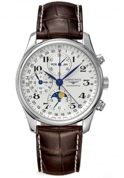 Longines Master Complications Mens watch, model number - L2.773.4.78.3, discount price of £1,989.00 from The Watch Source