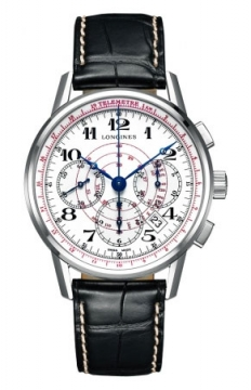 Longines Heritage Chronograph Mens watch, model number - L2.780.4.18.2, discount price of £1,730.00 from The Watch Source