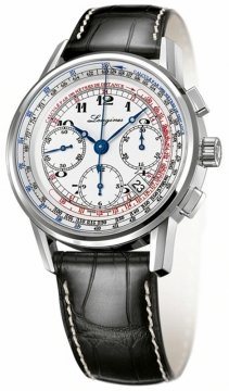 Longines Heritage Chronograph Mens watch, model number - L2.781.4.13.2, discount price of £1,795.00 from The Watch Source