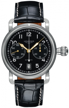 Longines Heritage Chronograph Mens watch, model number - L2.783.4.53.0, discount price of £1,921.00 from The Watch Source