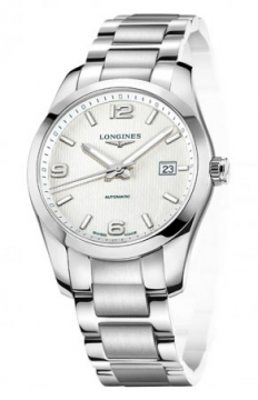 Longines Conquest Classic Automatic 40mm Mens watch, model number - L2.785.4.76.6, discount price of £1,095.00 from The Watch Source