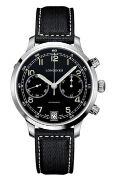 Longines Heritage Chronograph Mens watch, model number - L2.790.4.53.0, discount price of £1,375.00 from The Watch Source