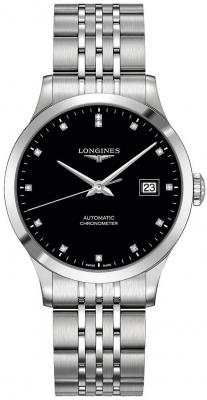 Longines Record 38.5mm L2.820.4.57.6 watch