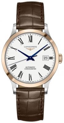 Longines Record 38.5mm L2.820.5.11.2 watch