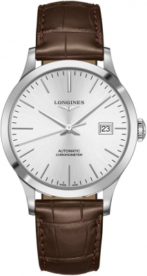 Longines Record 40mm L2.821.4.72.2 watch