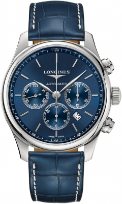 Longines Master Automatic Chronograph 44mm L2.859.4.92.0 watch