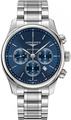 Longines Master Automatic Chronograph 44mm L2.859.4.92.6 watch