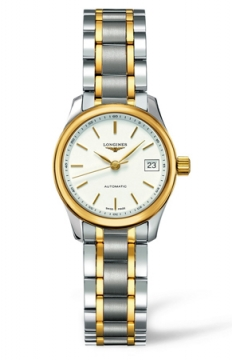 Longines Master Automatic 25.5mm Ladies watch, model number - L2.128.5.12.7, discount price of £1,205.00 from The Watch Source