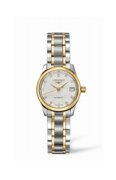Longines Master Automatic 25.5mm Ladies watch, model number - L2.128.5.77.7, discount price of £1,496.00 from The Watch Source
