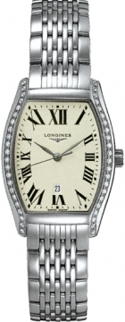 Longines Evidenza Ladies Quartz Ladies watch, model number - L2.155.0.71.6, discount price of £1,570.00 from The Watch Source
