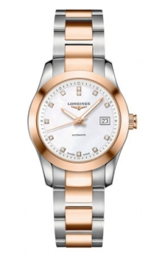Longines Conquest Classic Automatic 29mm Ladies watch, model number - L2.285.5.87.7, discount price of £2,010.00 from The Watch Source