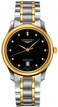 Longines Master Automatic 38.5mm Mens watch, model number - L2.628.5.57.7, discount price of £1,820.00 from The Watch Source