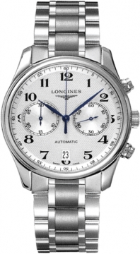Longines Master Automatic Chronograph 40mm Mens watch, model number - L2.629.4.78.6, discount price of £1,530.00 from The Watch Source