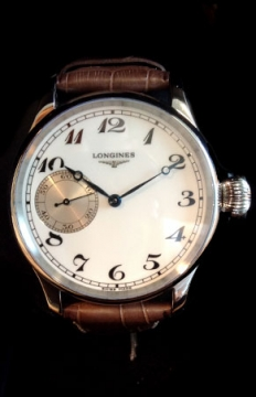 Longines Weems Second Setting Mens watch, model number - L2.639.4.23.2, discount price of £2,300.00 from The Watch Source