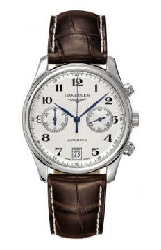Longines Master Automatic Chronograph 38.5mm Mens watch, model number - L2.669.4.78.3, discount price of £1,435.00 from The Watch Source
