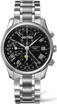 Longines Master Complications Mens watch, model number - L2.673.4.51.6, discount price of £1,861.00 from The Watch Source