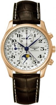 Longines Master Complications Mens watch, model number - L2.673.8.78.3, discount price of £5,405.00 from The Watch Source