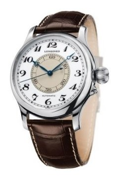 Longines Weems Second Setting Mens watch, model number - L2.713.4.13.0, discount price of £2,345.00 from The Watch Source