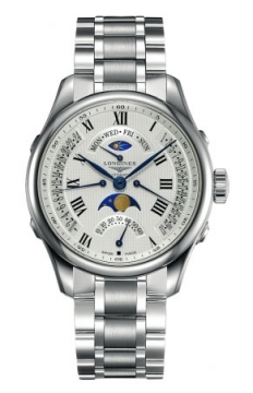 Longines Master Retrograde Seconds 41mm Mens watch, model number - L2.738.4.71.6, discount price of £2,045.00 from The Watch Source