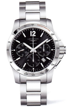 Longines Conquest Automatic Chronograph 41mm Mens watch, model number - L2.743.4.56.6, discount price of £1,435.00 from The Watch Source