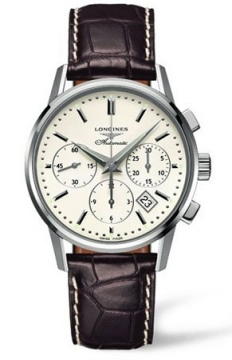 Longines Heritage Chronograph Mens watch, model number - L2.749.4.72.2, discount price of £1,836.00 from The Watch Source