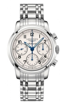 Longines The Saint-Imier Chronograph 41mm Mens watch, model number - L2.752.4.73.6, discount price of £1,725.00 from The Watch Source