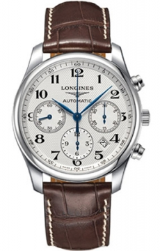 Longines Master Automatic Chronograph 42mm Mens watch, model number - L2.759.4.78.3, discount price of £1,640.00 from The Watch Source