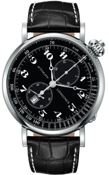 Longines Heritage Avigation Mens watch, model number - L2.779.4.53.0, discount price of £2,625.00 from The Watch Source