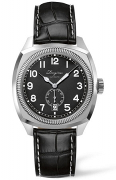 Longines Heritage Classic Mens watch, model number - L2.794.4.53.2, discount price of £1,181.00 from The Watch Source