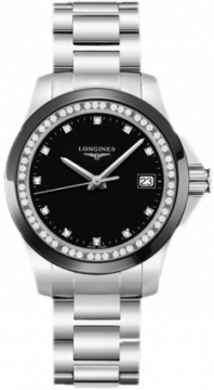Longines Conquest Quartz 35mm Ladies watch, model number - L3.281.0.57.6, discount price of £1,054.00 from The Watch Source