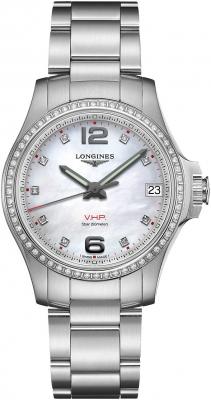 Longines Conquest V.H.P. 36mm L3.316.0.87.6 watch