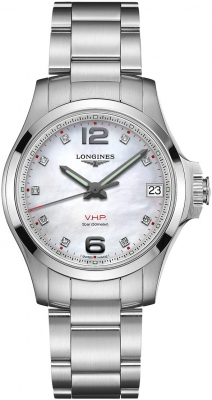 Longines Conquest V.H.P. 36mm L3.316.4.87.6 watch
