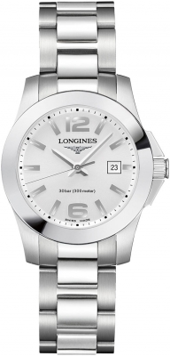 Longines Conquest Quartz Ladies 29.5mm L3.376.4.76.6 watch