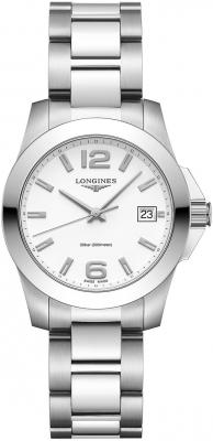 Longines Conquest Quartz 34mm L3.377.4.16.6 watch